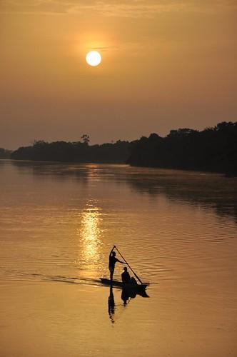 Sunrise on the Congo