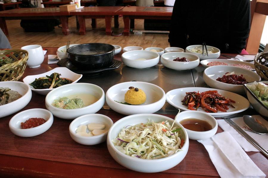 Lunch set(pork, Wolsan restaurant)