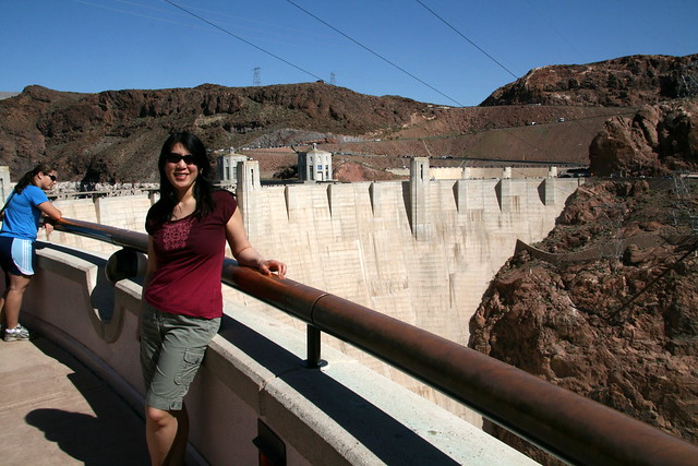 At the Hoover Dam