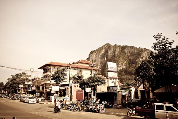 Street of Ao Nang