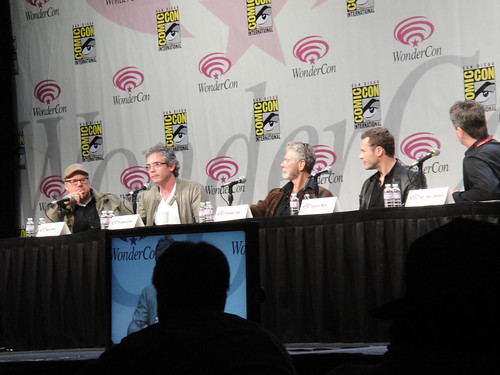WonderCon 2011 - Terra Nova panel with director Alex Graves, executive producer Brannon Braga, and stars Stephen Lang and Jason O'Mara