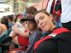 At the footy (Gavin Anderson) Tags: sydney essendon 3411 anzstadium closematch footyweekend