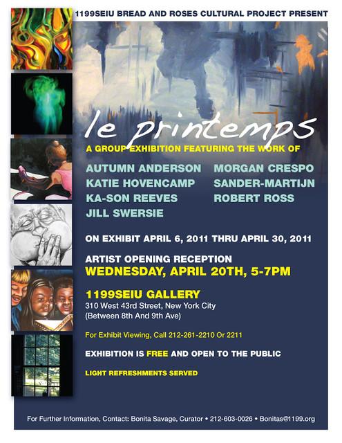le Printemps Group art show
