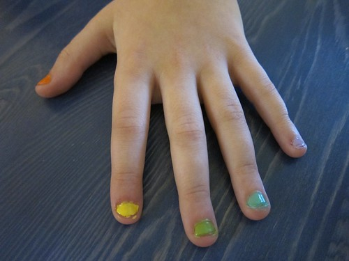 Symmie Rainbow Nails