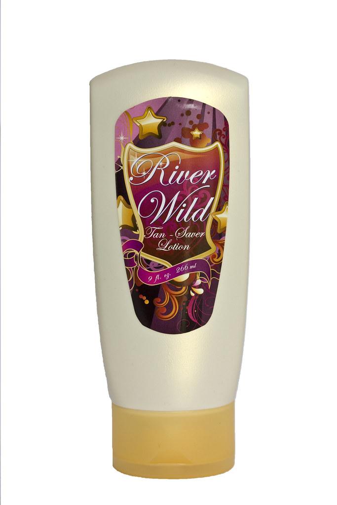 River Wild Tan Saver Lotion