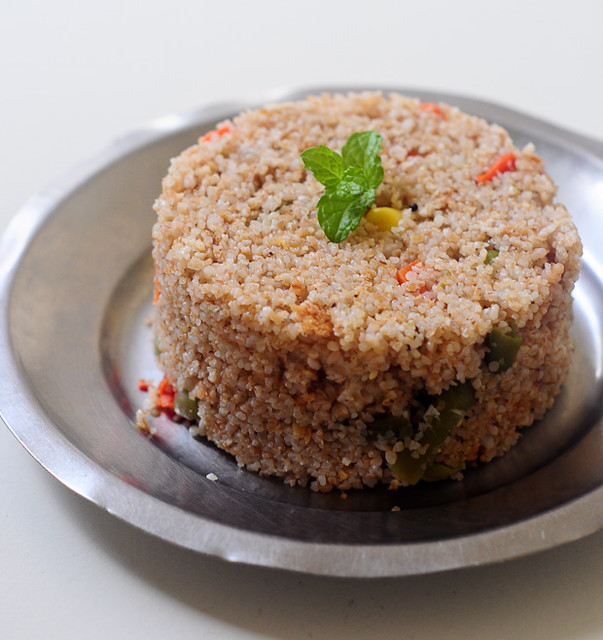 vegetable dalia broken wheat upma recipe
