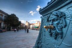 Pontevedra (benitojuncal) Tags: santa plaza agua maria fuente galicia fonte pontevedra rias beber baixas