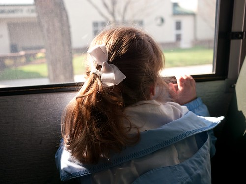 First school bus ride