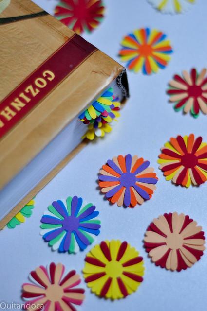 Projetinho craft - marcadores de páginas
