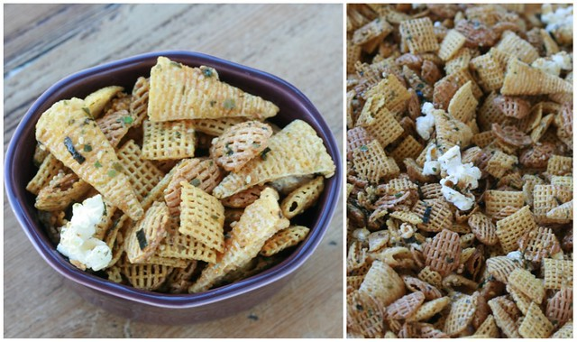 Furikake Party Mix Collage 2
