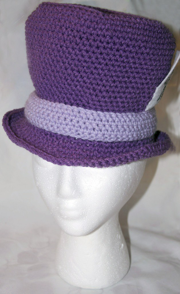 04 03 2011 (perfectfitcrochet) Tags  hat cheshire crochet disney cap tophat b6d645b6535