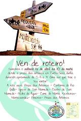 cartaz subida ao Xesteiras
