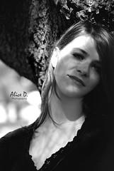 B&W (Alice D. Photography) Tags: portrait bw white black eye girl face eyes nikon maddy sguardo maddalena nikkor ritratto viso 55200 d3000