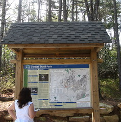 Sign board art start of Rainbow Falls Trail Photo