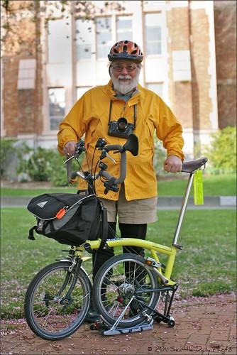 Brompton Rider on Campus