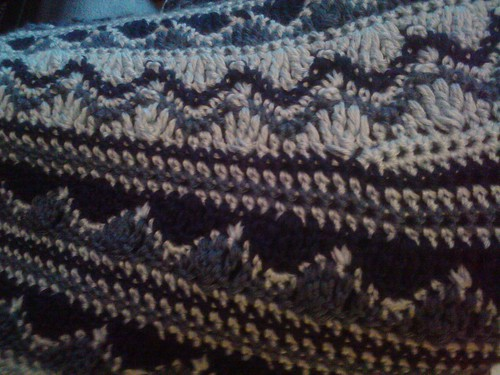 Close up of blanket