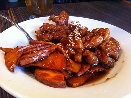 Nanking sesame chicken