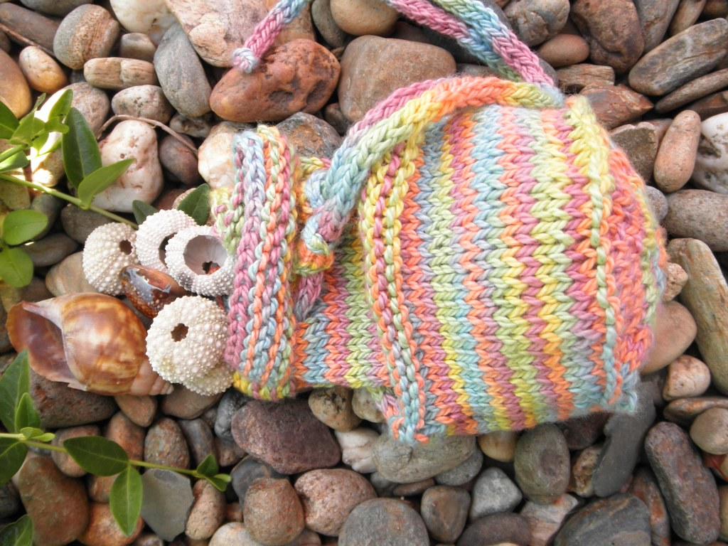 April Craft-a-Poem: Shell-Gathering Bag