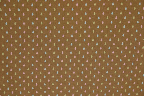 Tula Pink Hushabye Droplets in Brown