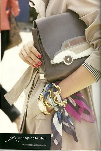 Mais um jeito de usar lenços de seda!!! by Atelier Mônica de Godoi