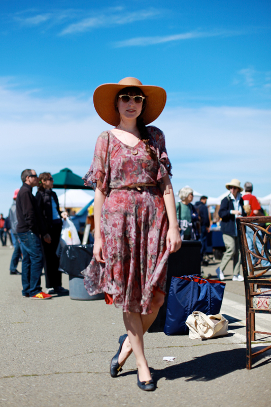 ashley - alameda flea market street fashion style