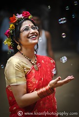 Joy of Pohela Boishak 1 (Khondker Nasif Akhter) Tags: girls people woman colour nikon celebration bangla pohela ramna boishakh noboborsho d3000 charukola batamul