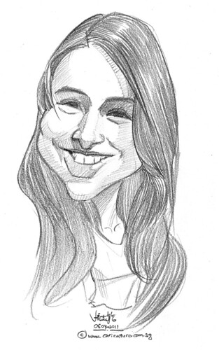 caricature in pencil - 25