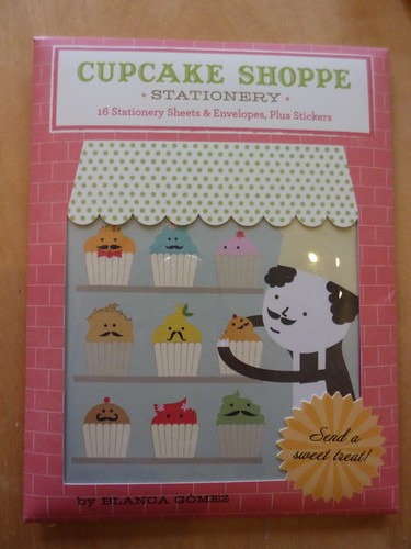 Cupcake Shoppe Stationery