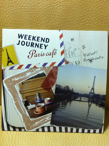 'Bistro Affair' is titled 'Weekend Journey' in Japan!