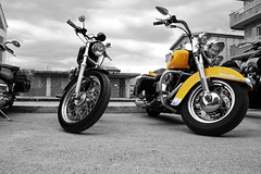 Yellow-motorcycle (Minister Of Pain II) Tags: yellow moto motorcycle yelloe ultimatescore youscore
