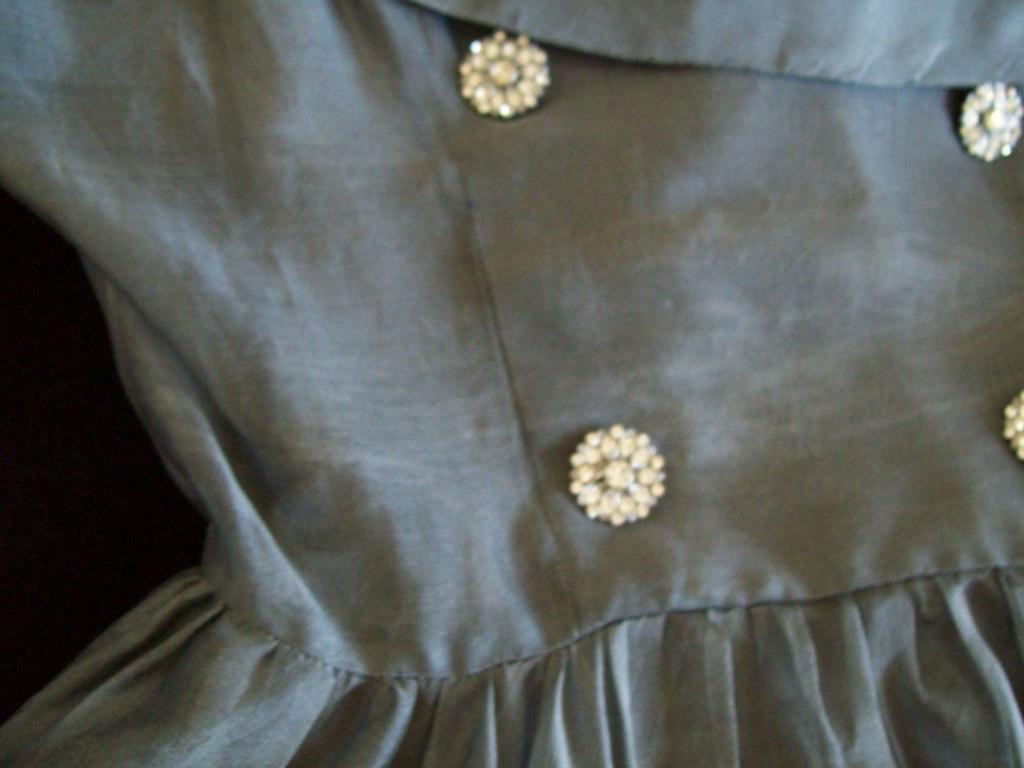 Grey 50's Dress