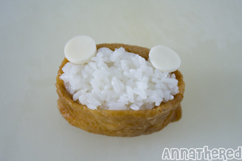 How to make Rilakkuma inari-zushi