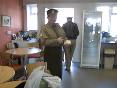 AFMC Shopwindow 028 (I Poper) Tags: woman army military wwii ww2 britisharmy reenactment reenactors corporal ats pickering womeninuniform womenatwar warweekend subleader womensmilitarycap afmcshopwindow