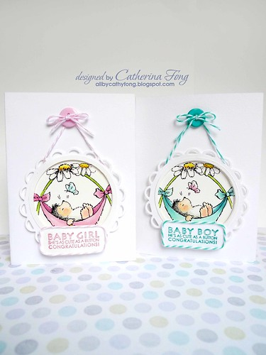 penny black baby cards