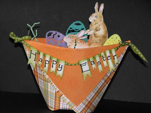 Folded Easter Basket 014