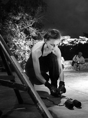 (Eleanna Kounoupa (Melissa)) Tags: night dancing athens    blackandwhite  akropli