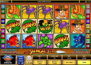 Jungle Jim slot game online review