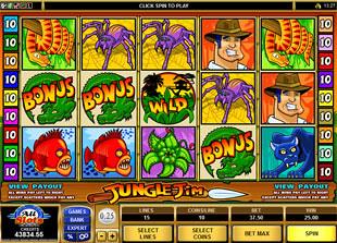 Jungle Jim slot game online review