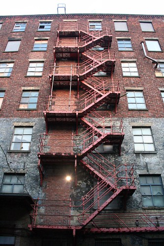 Brunswick Mill Fire Escape