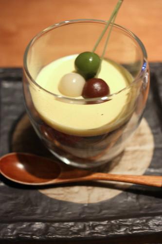 "Homemade Dessert: delicate ""shira-tama"" mochi trio"