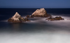 Night at Seal Rock (Matt Granz Photography) Tags: ocean california desktop wallpaper seascape motion blur beach rock night photography nikon san francisco long exposure waves pacific landmark tokina seal shore 1224mm d90 mattgranz
