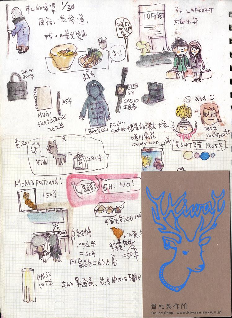 【本子。日本】05。表參到。原宿。光麵
