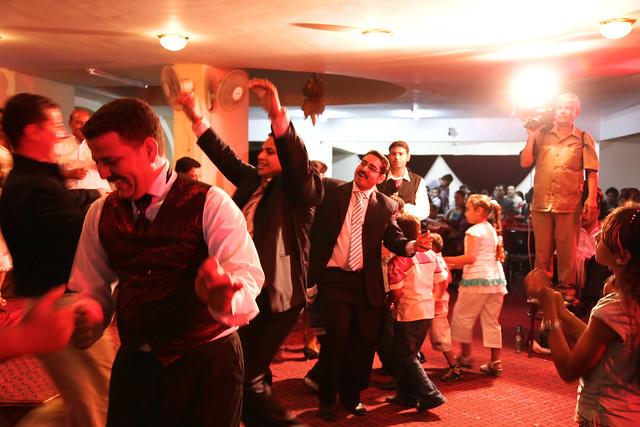 エジプト、アスワンの結婚パーティー