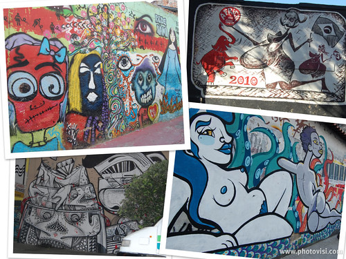 Rio also has some of the most interesting - and impressive - graffiti i've seen