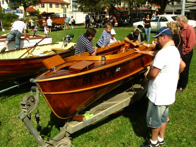 Wooden boats at Lake Macquarie classic boatfest 2011 - 2012 anyone?