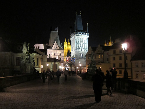 Charles Bridge, Night