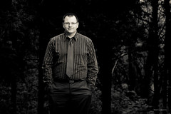 Justin (markdvk) Tags: portrait monochrome canon soldier guard national 5d lightroom 100400 430ex strobist