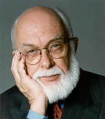 """the amazing"" james randi (nickleus) Tags: atheism evolution philosophy science ape primate scientist philosopher atheist"