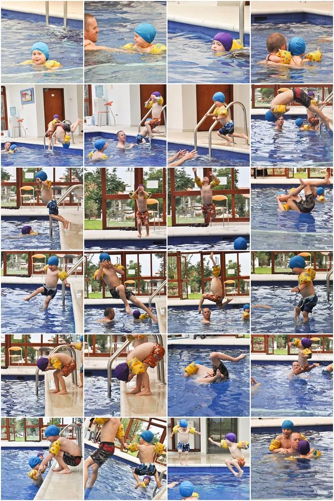 Villa de Leyva pool mosaic