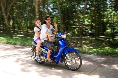 Moped on Koh Yao Noi